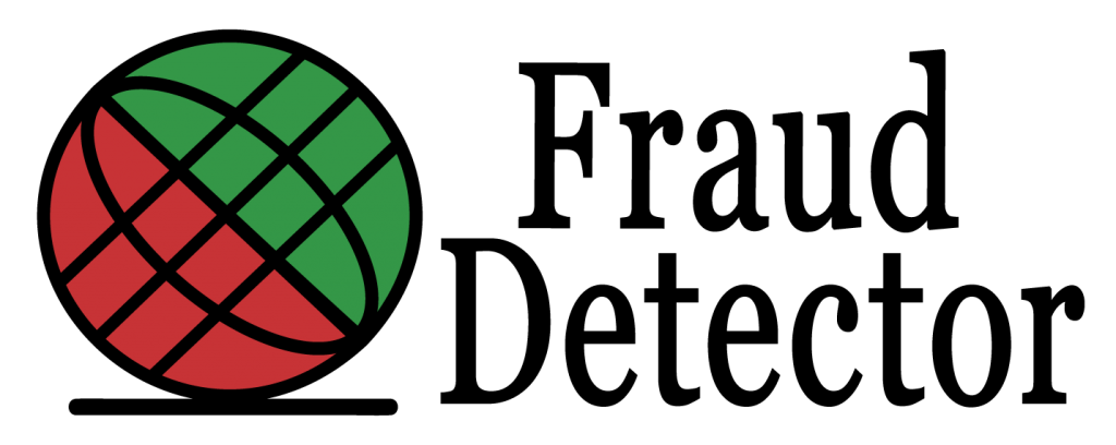 Fraud Detector logo making online Europe secure